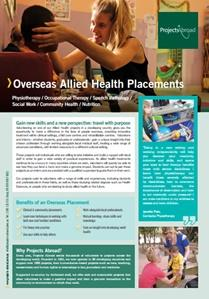 Projects Abroad - Allied Healthcare Placements