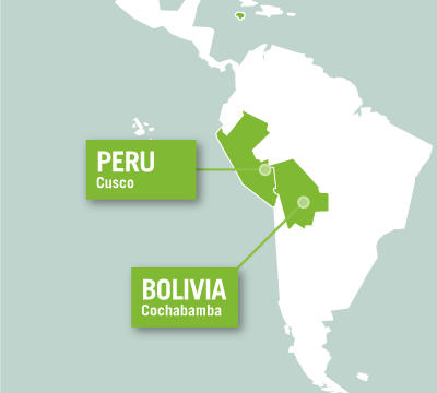 Projects Abroad is based in Sacred Valley, Peru, and Cochabamba, Bolivia