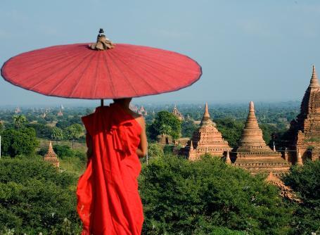 Scenery in Myanmar