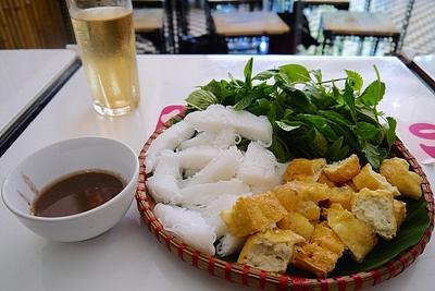 Traditional cuisine in Hanoi, Vietnam