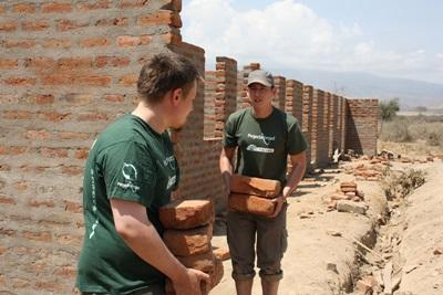 Travel on Community Construction projects in Tanzania