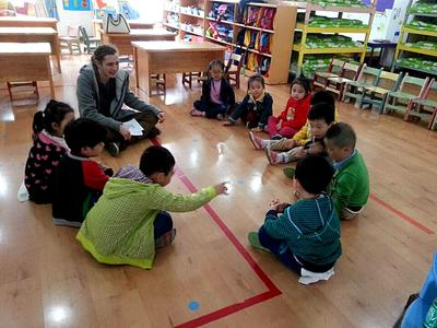 A Projects Abroad volunteer Care placement in China
