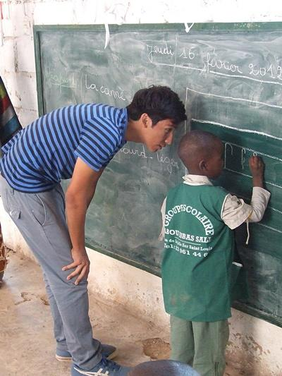 Volunteer on Care projects overseas in Senegal