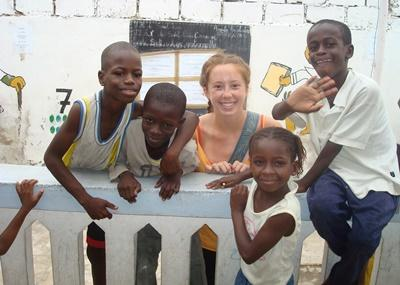 Care & Community Work with French in Senegal