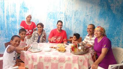 Living with a Morocco host family will enable Projects Abroad volunteers to practise their French language skills