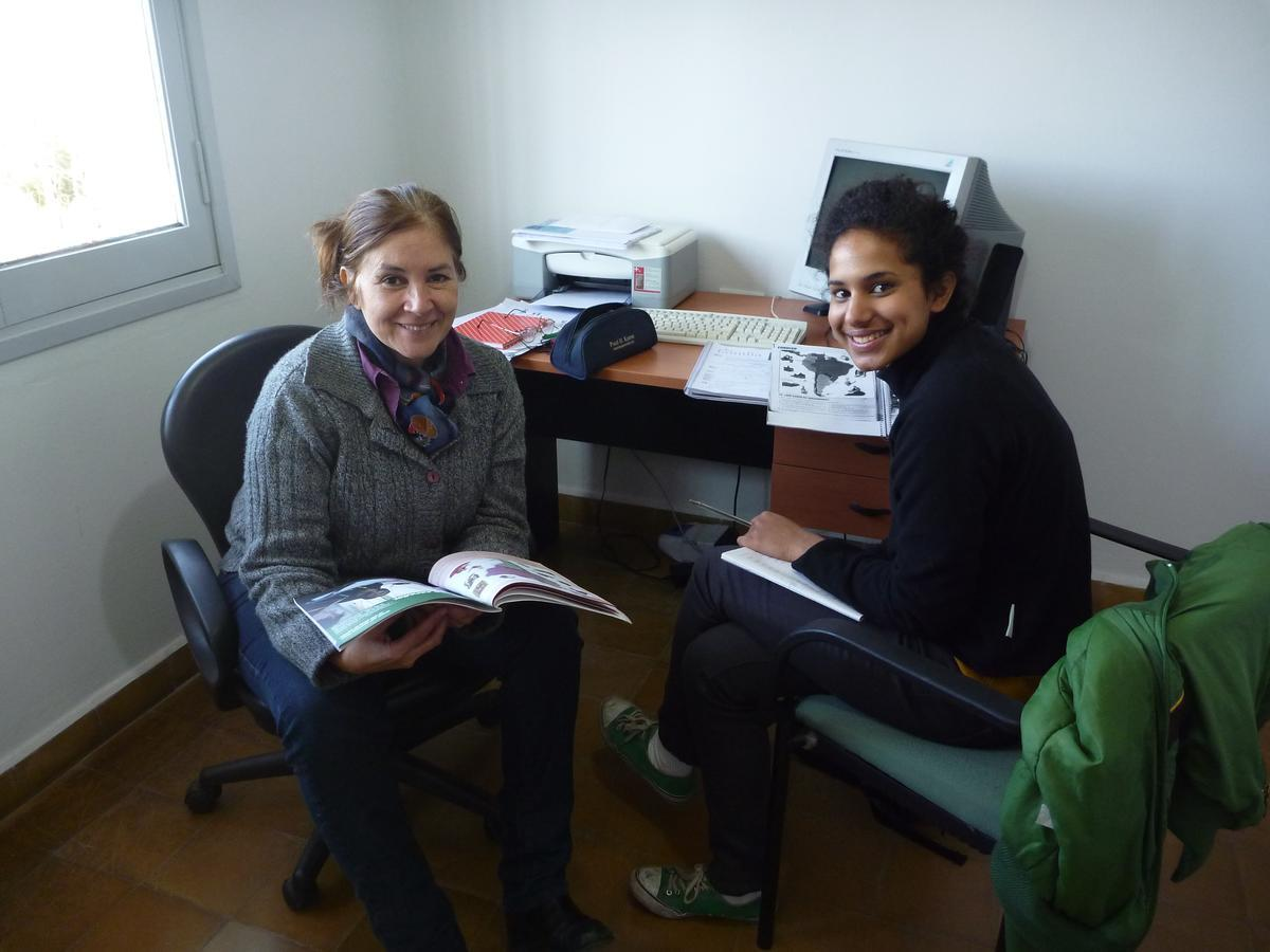 Projects Abroad volunteers learning Spanish in Argentina