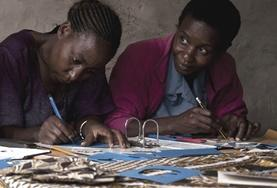 Human Rights interns learn from local legal staff at our volunteer placement in Tanzania.