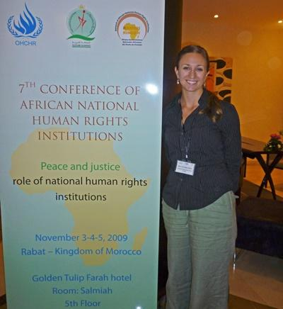 Work Experience on Human Rights in Morocco