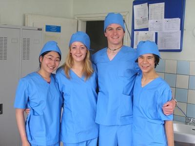 Projects Abroad Nursing volunteers at their placement overseas in Mongolia