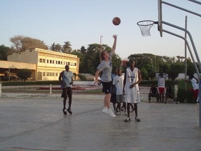 Basketball Sports coaching in Ghana